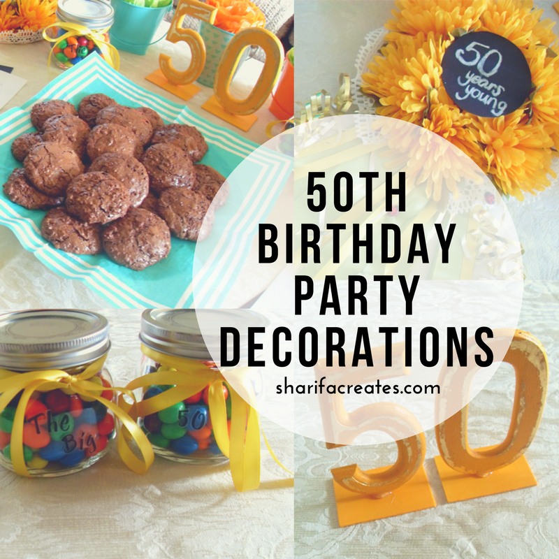 50th birthday party cover image