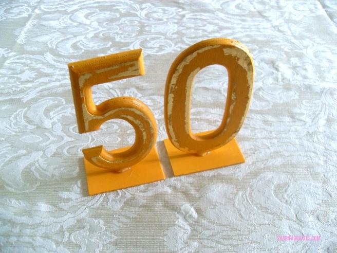 50th birthday party decor