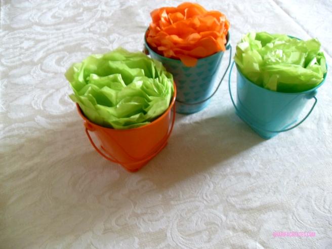 mini pom pom flowers