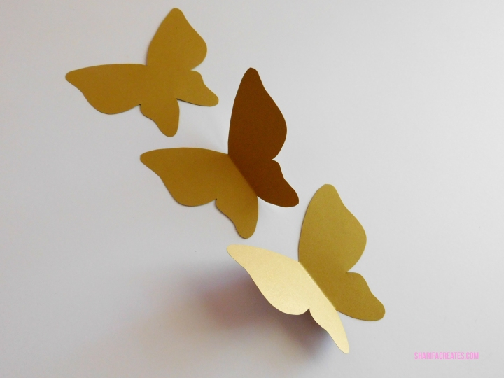how to make butterfly wall decals