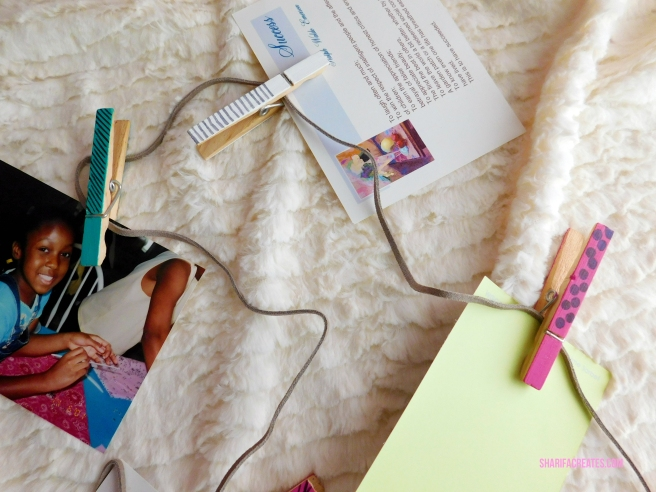 photo clip string set diy project