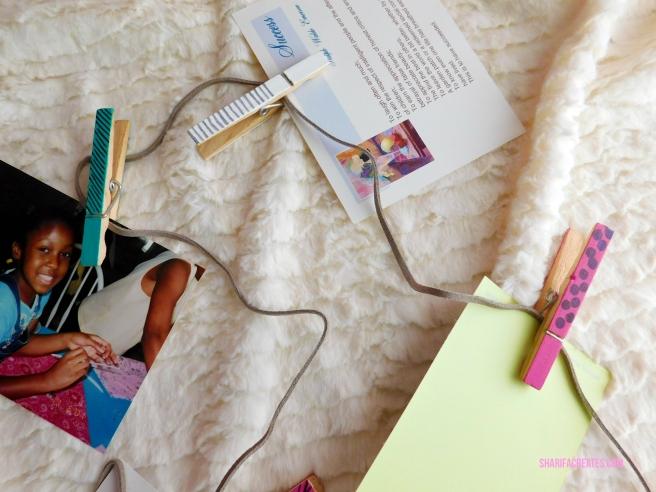photo clip string set diy project