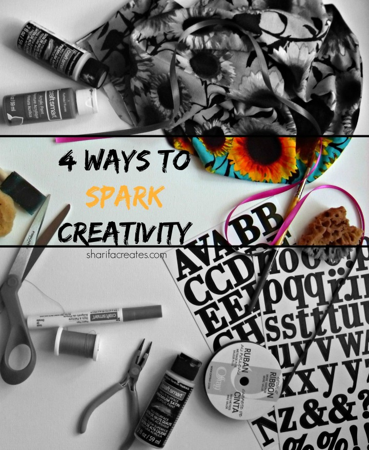 4 Ways to Spark Creativity