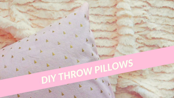DIY Throw Pillows CI
