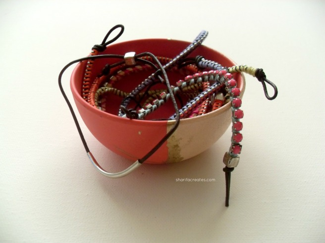 Jewelry in Bowl