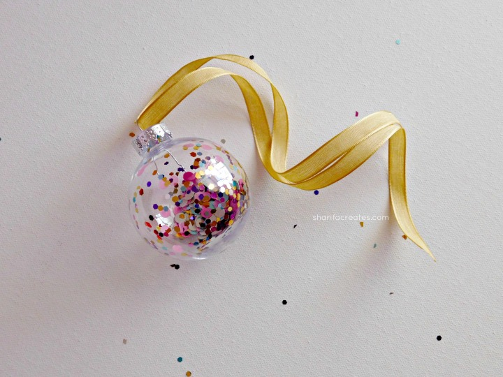 bauble and ribbon