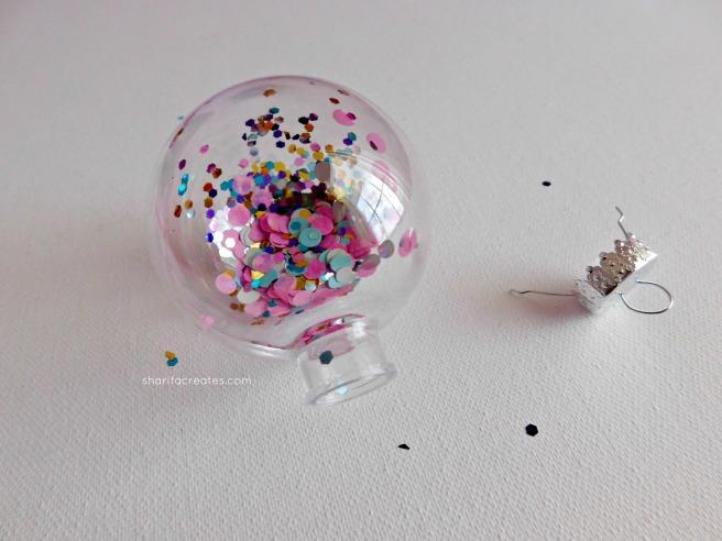 glitter bauble