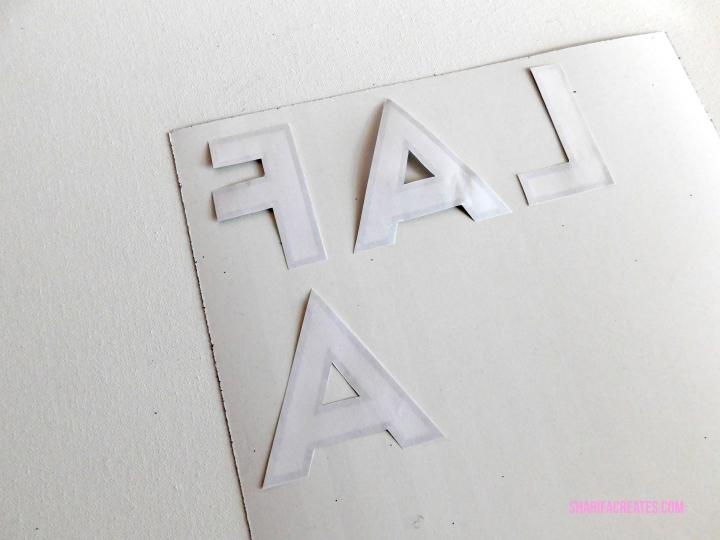 make a letter banner