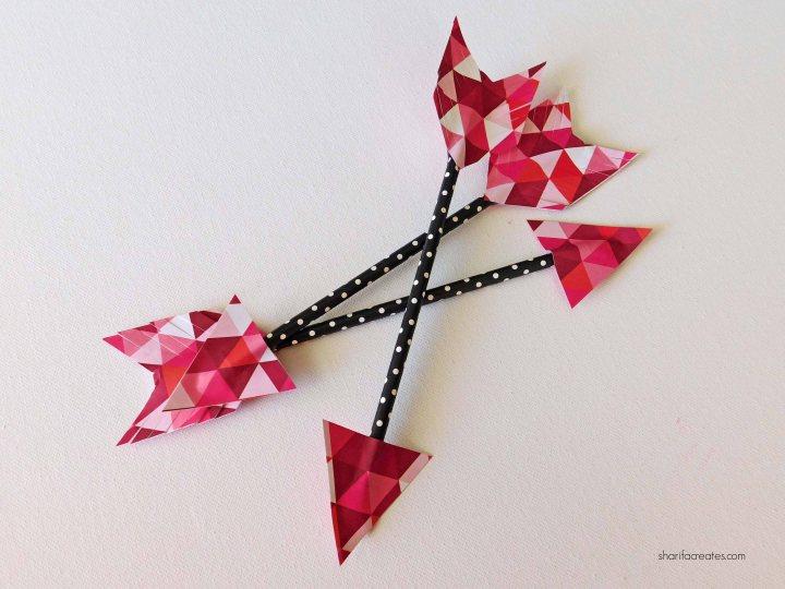 N valentines arrows