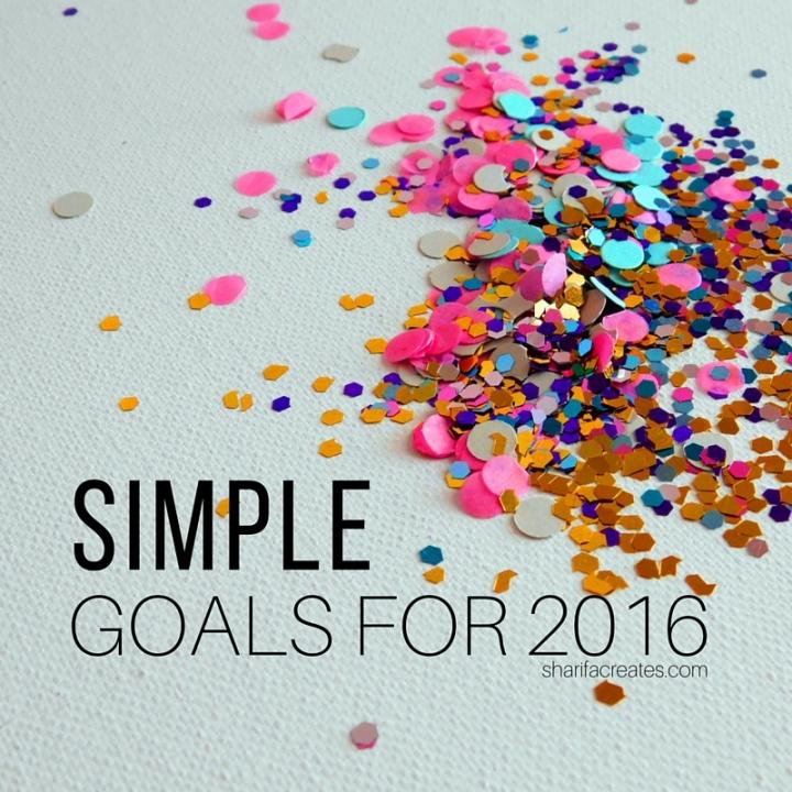 Simple Goals 2016