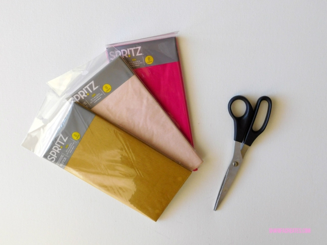materials need to make paper tassels
