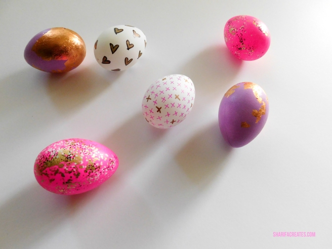 decorated easter eggs creative