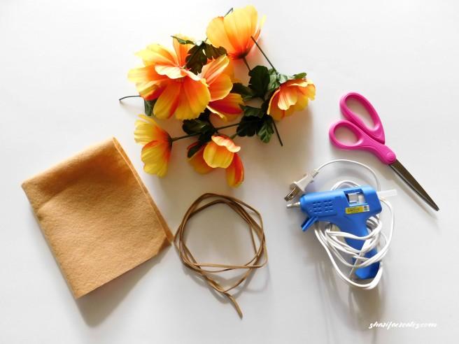 flower materials