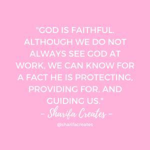 god is faithful always
