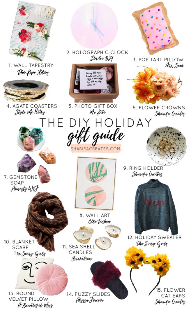 diy christmas gift guide