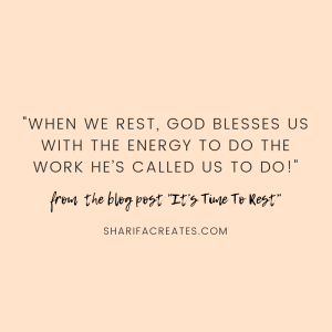 Rest Jesus