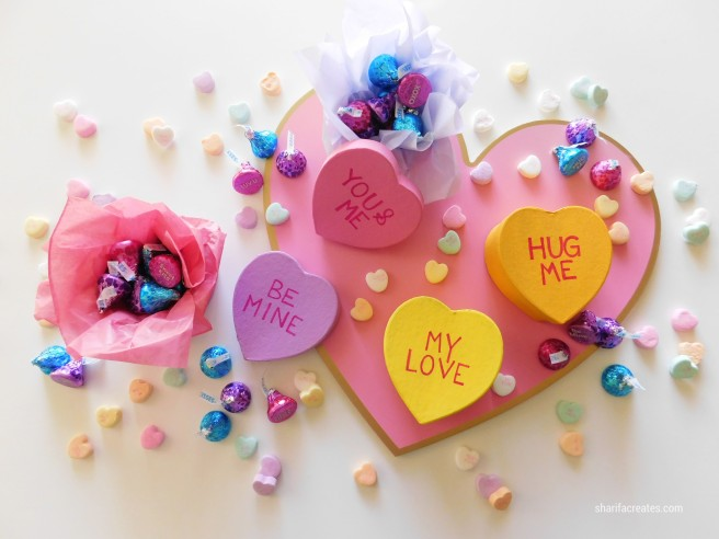 conversation heart diy project