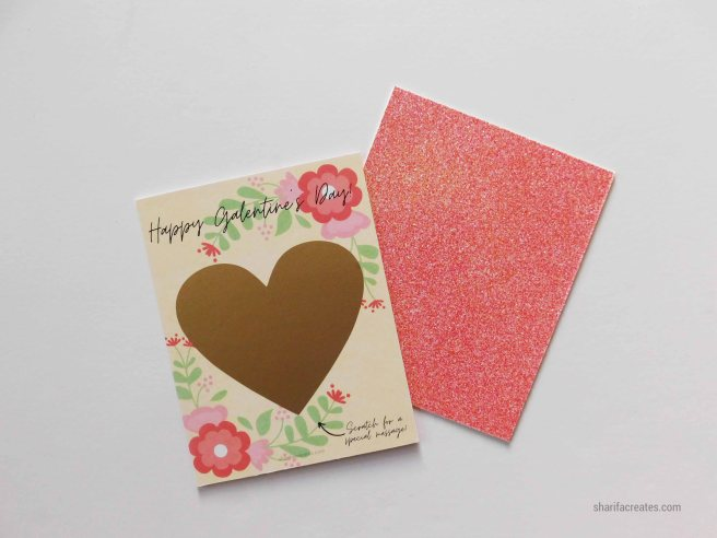 How To Make Glitter Paper Cards