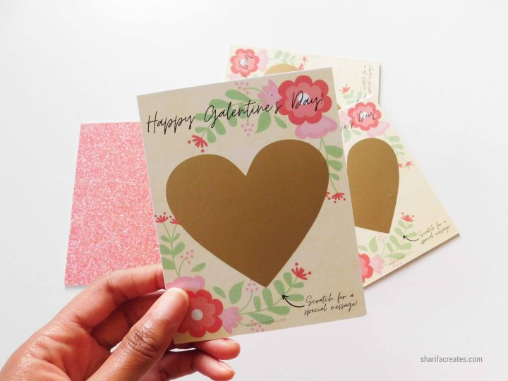 Gold Heart Card Tutorial