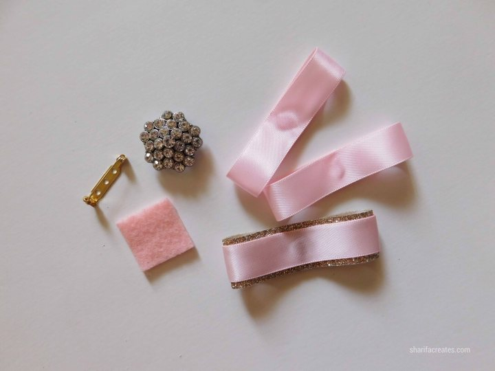 ribbon bow brooch pin tutorial diy (17)