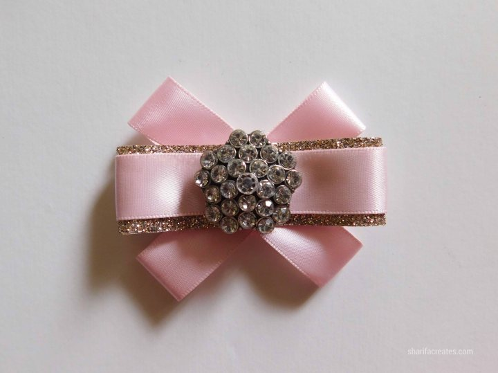ribbon bow brooch pin tutorial diy (24)