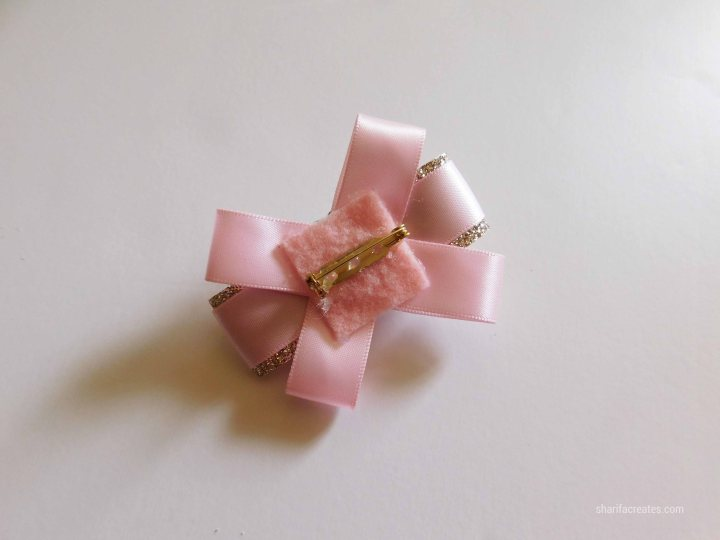 ribbon bow brooch pin tutorial diy (27)