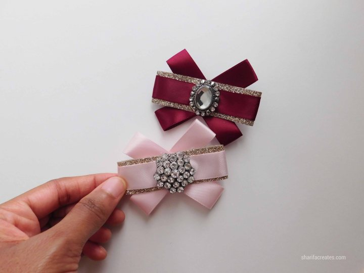 ribbon bow brooch pin tutorial diy (35)
